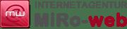 Internetagentur MiRo-web--Logo-Design-Header